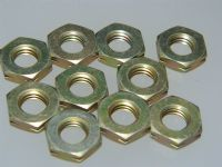 "10 x 5/16"" BSF Thin Nuts Cadmium Plated Medium Tensile Steel Part A27-GT [L15]"
